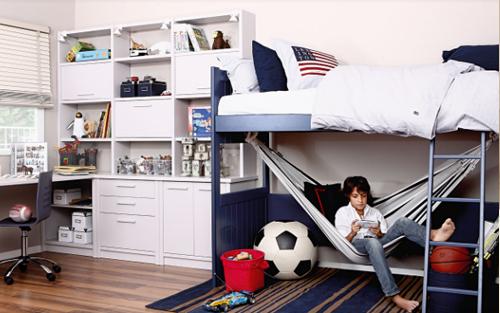 Muebles touch dormitorios juveniles for Camas en alto juveniles