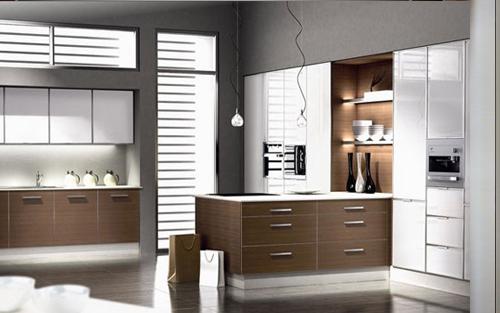 Muebles touch cocinas - Cocinas con electrodomesticos blancos ...