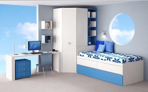 Muebles touch dormitorios juveniles for Recamaras juveniles con escritorio