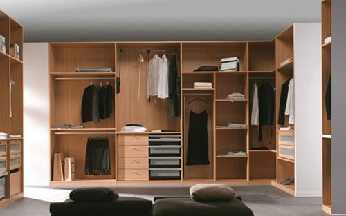 armario vestidor prctico y funcional para multitud de posibilidades en la organizacin de las prendas de vestir - Vestir Armarios Empotrados
