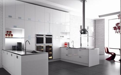 Stunning Cocinas De Diseño Blancas Contemporary - Casa & Diseño ...
