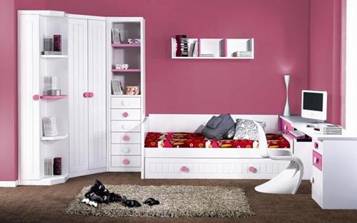 Muebles touch dormitorios juveniles - Habitacion rosa palo ...